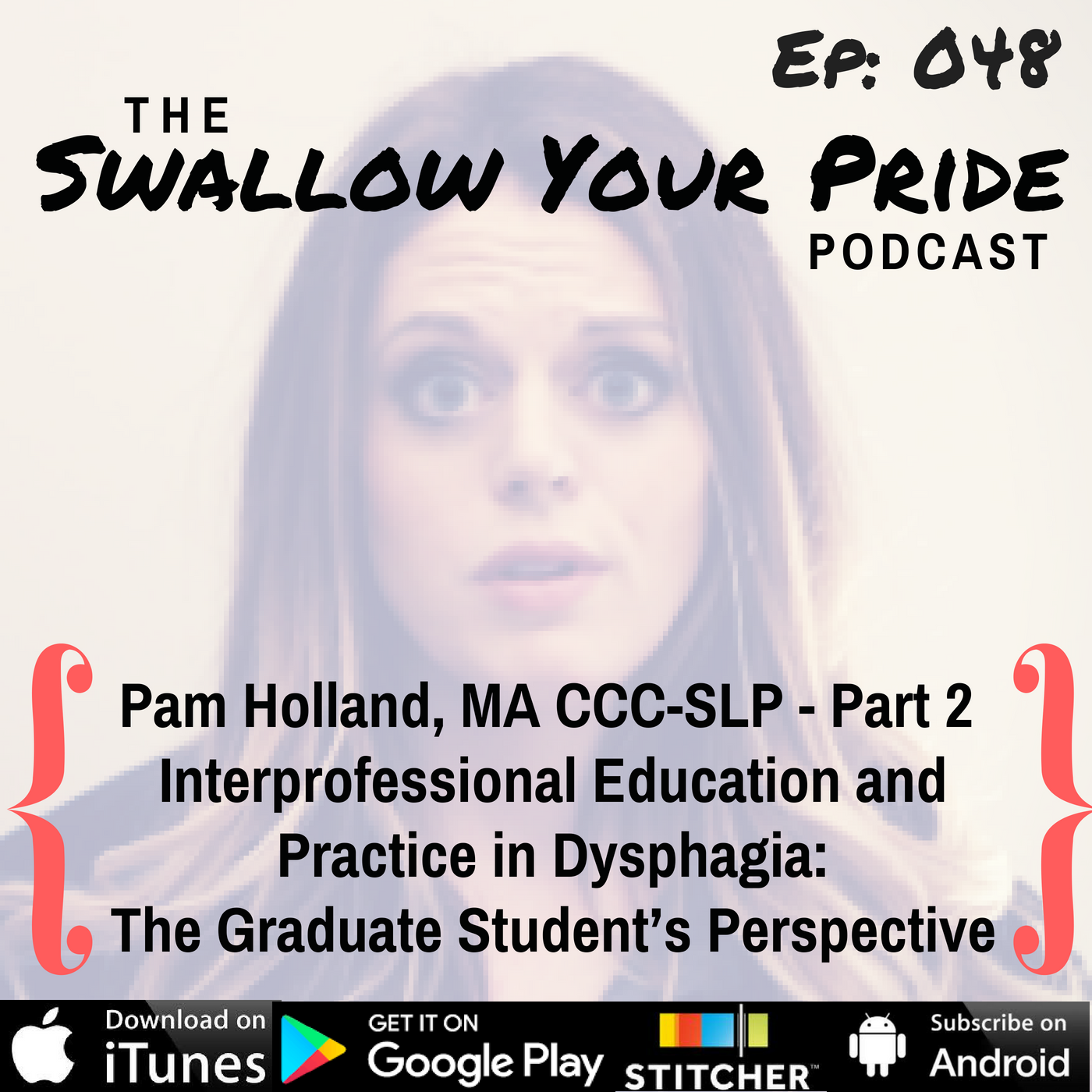 048 – Pam Holland, MA CCC-SLP – Part 2 – Interprofessional Education and Practice in Dysphagia:  The Graduate Student's Perspective