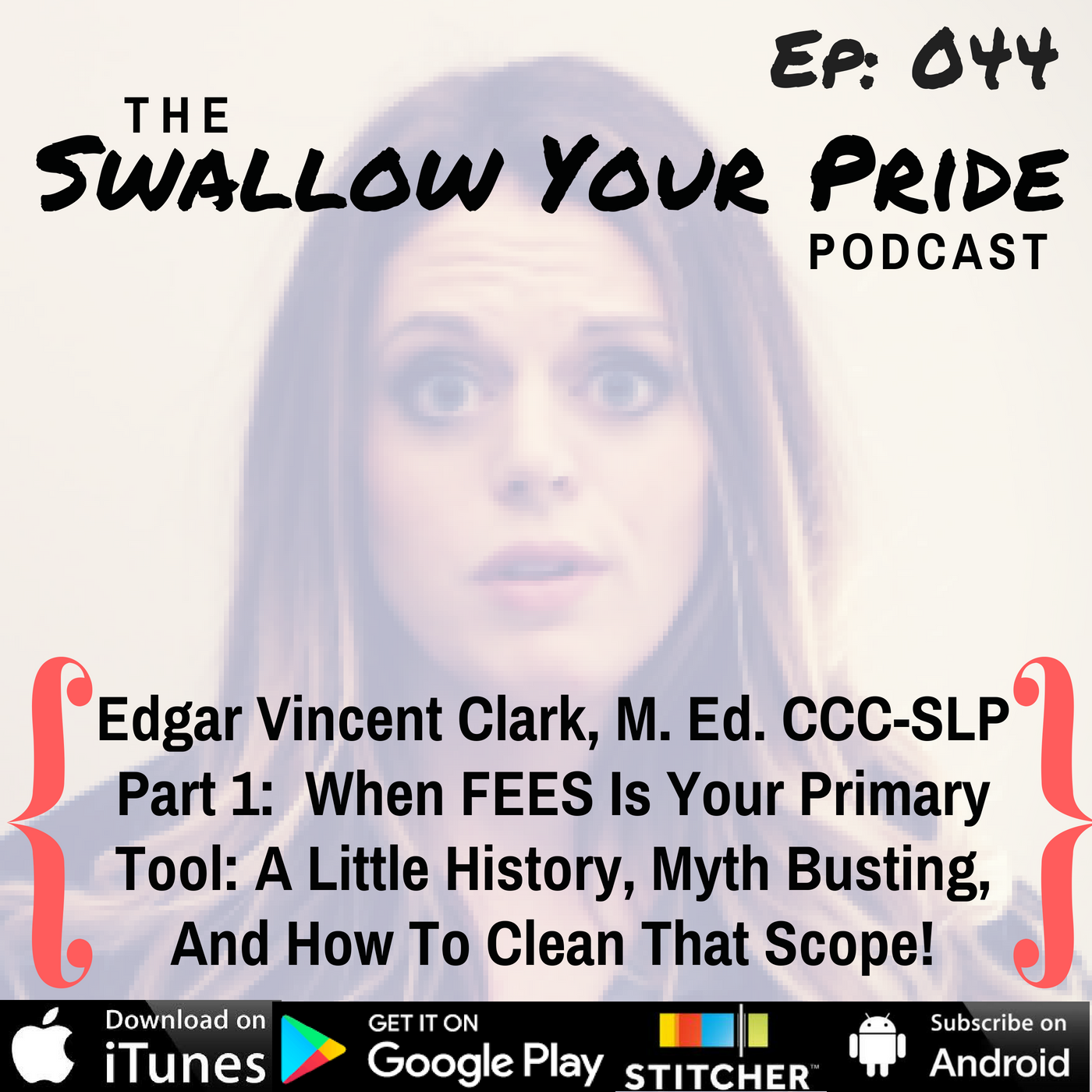 044 – Edgar Vincent Clark, M. Ed. CCC-SLP – When FEES Is Your Primary Tool:  A Little History, Myth Busting, And How To Clean That Scope!