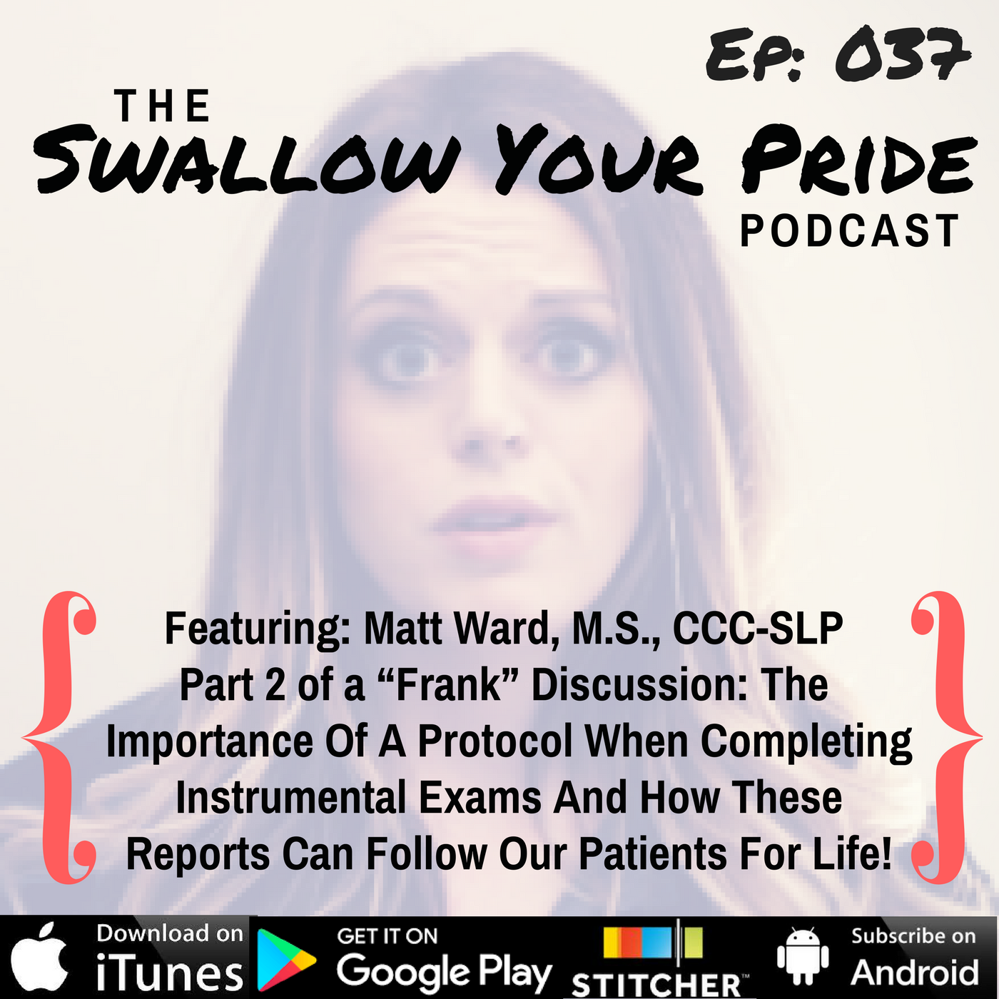 037 – Matt Ward, M.S., CCC-SLP – The Importance Of A Protocol When Completing Instrumental Exams And How These Reports Can Follow Our Patients For Life!