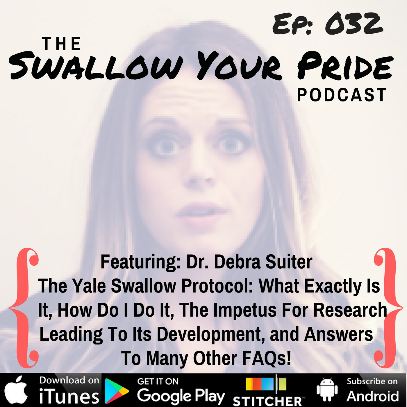 032 – Debra Suiter Ph.D., CCC-SLP, BCS-S, F-ASHA – The Yale Swallow Protocol: What Exactly Is It, How Do I Do It, The Impetus For Research Leading To Its Development, and Answers To Many Other FAQs!