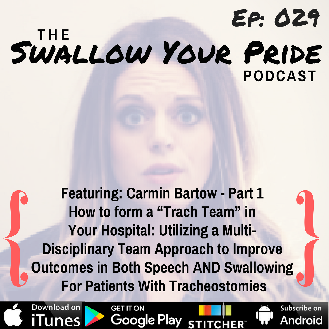 "029 – Carmin Bartow, M.S. CCC-SLP, BCS-S – Part 1 – How to Form a ""Trach Team"" in Your Hospital: Utilizing a Multi-Disciplinary Team Approach to Improve Outcomes in Both Speech AND Swallowing For Patients With Tracheostomies"