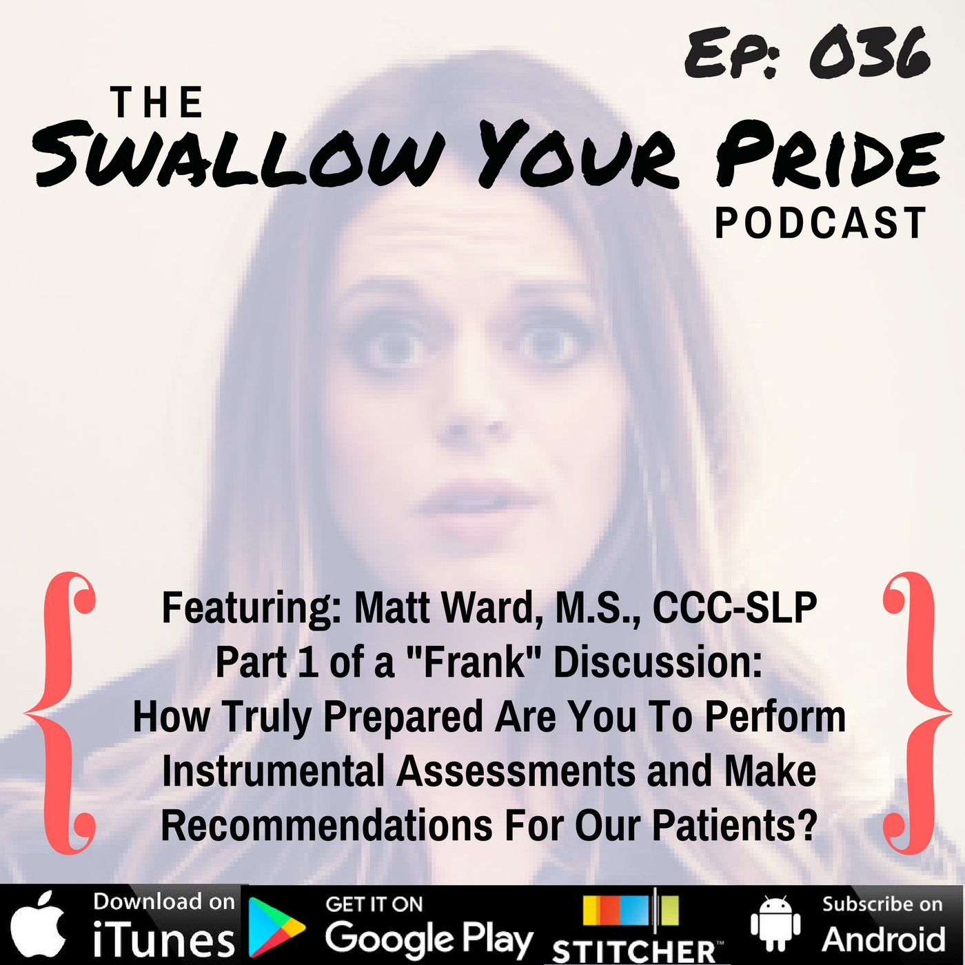 "036 – Matt Ward, M.S., CCC-SLP – Part 1 of a ""Frank"" Discussion: How Truly Prepared Are You To Perform Instrumental Assessments and Make Recommendations For Our Patients?"