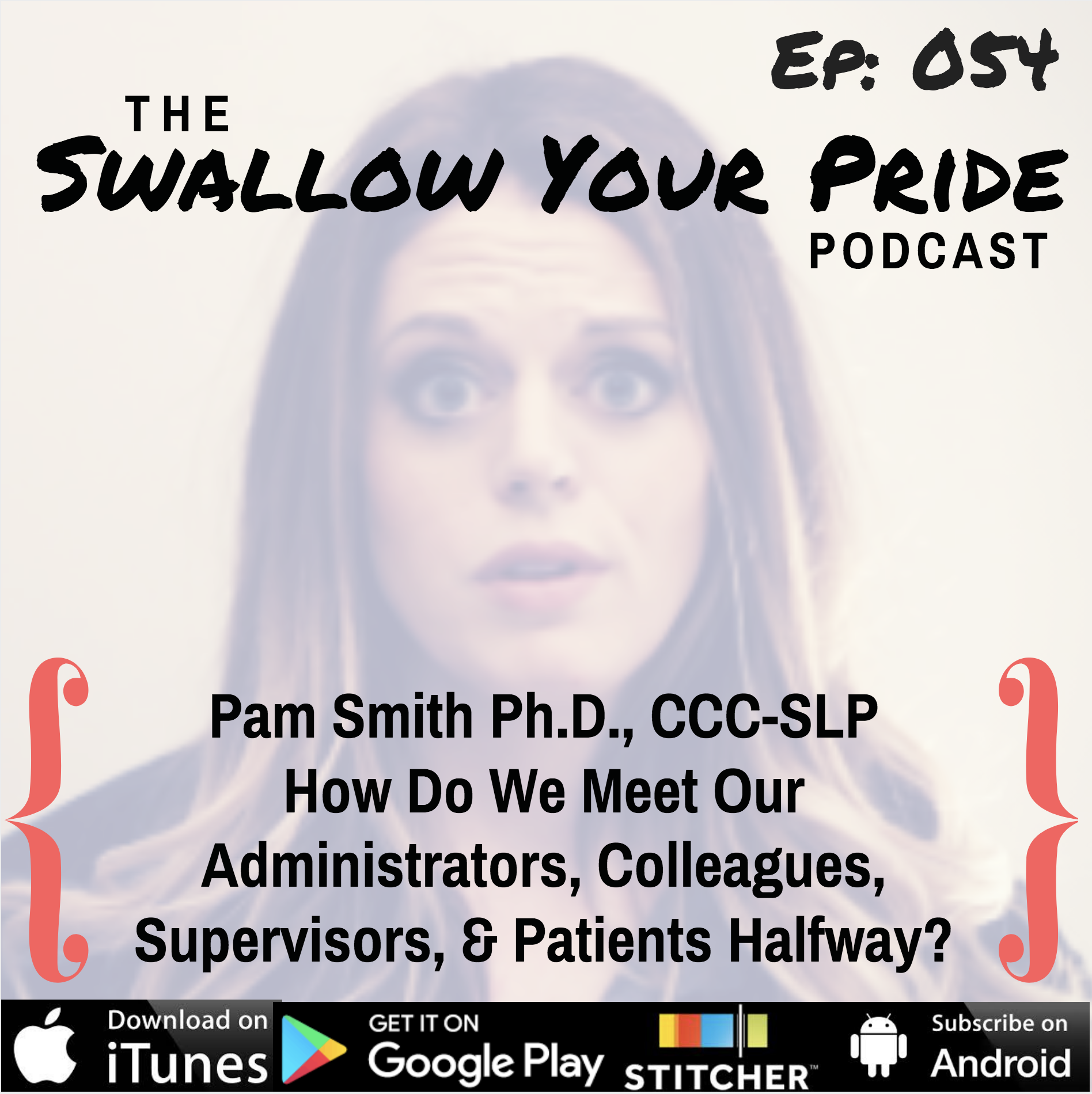054 – Pam Smith Ph.D., CCC-SLP How Do We Meet Our Administrators, Colleagues, Supervisors, and Patients Half Way?