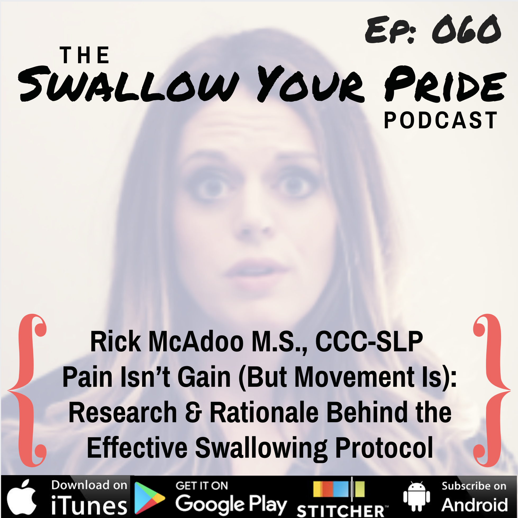060 – Rick McAdoo M.S., CCC-SLP – Pain Isn't Gain (But Movement Is): Research and Rationale Behind the Effective Swallowing Protocol