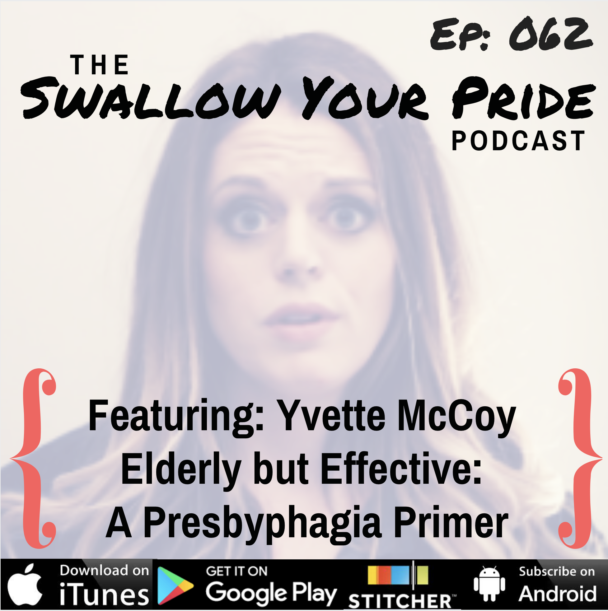 062 – Yvette McCoy MS, CCC-SLP, BCS-S – Elderly but Effective: A Presbyphagia Primer