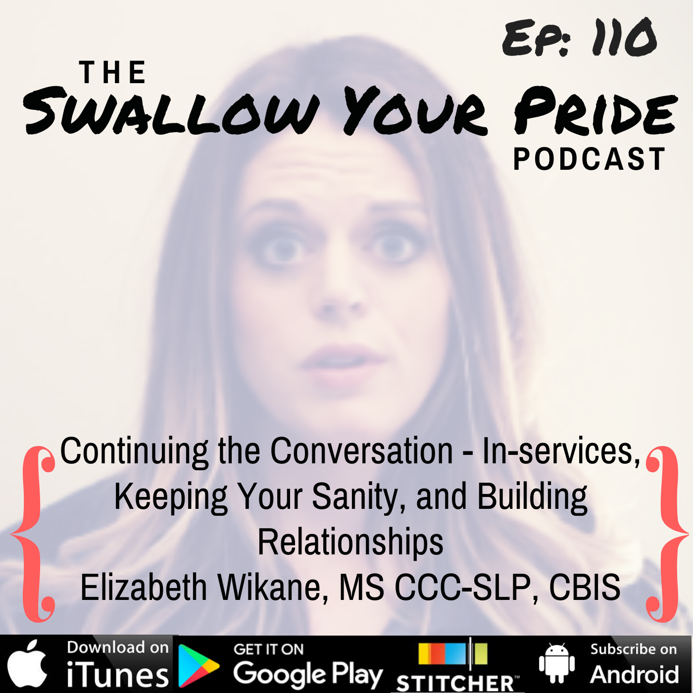 110 – Elizabeth Wikane, MS CCC-SLP, CBIS – Continuing the Conversation – In-services, Keeping Your Sanity, and Building Relationships