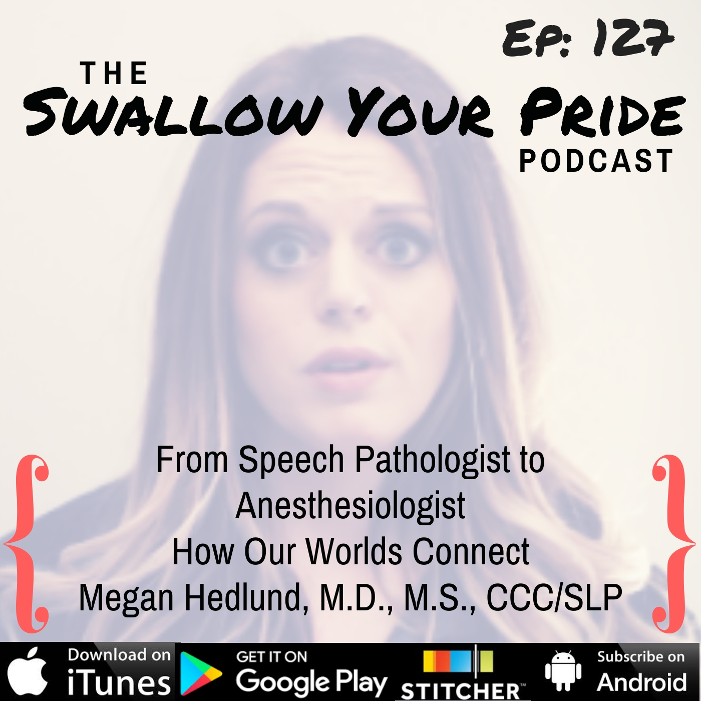 127 – Megan Hedlund, M.D., M.S., CCC-SLP – From Speech Pathologist to Anesthesiologist – How Our Worlds Connect