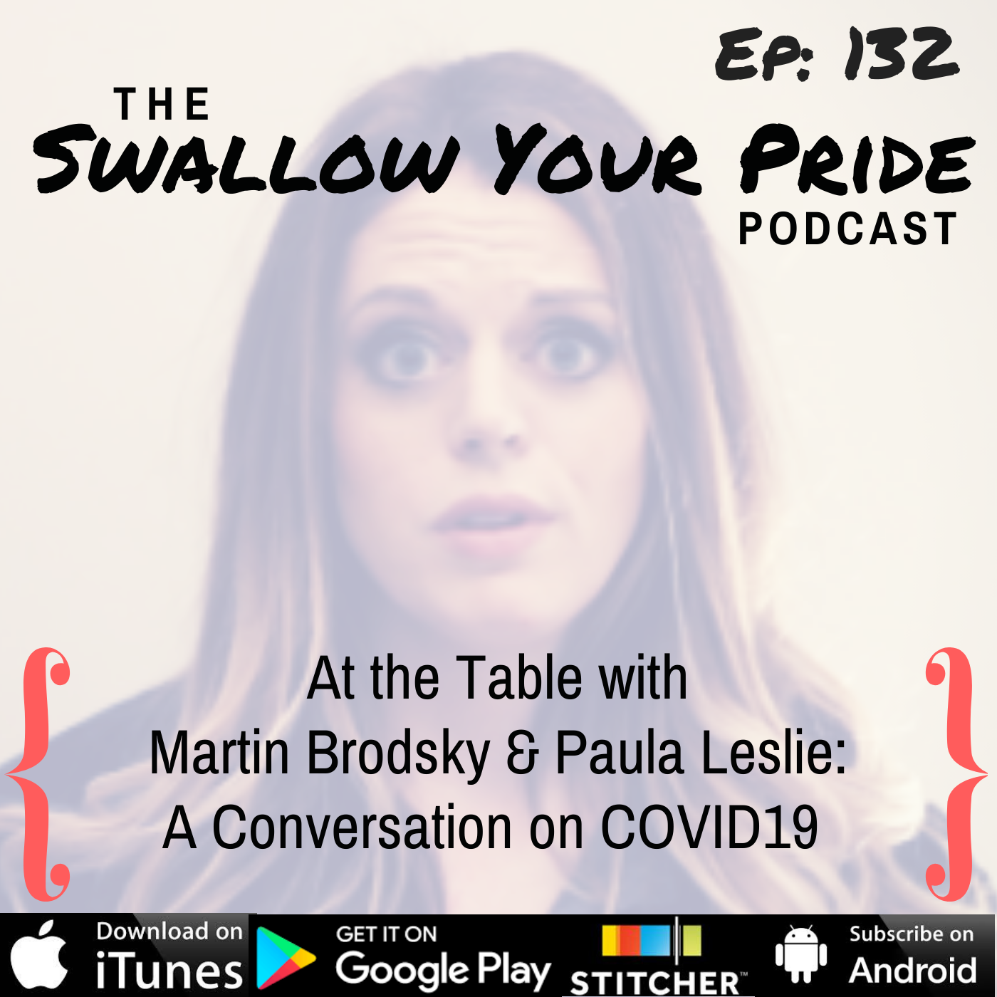 132 – At the Table with Martin Brodsky & Paula Leslie: A Conversation on COVID19