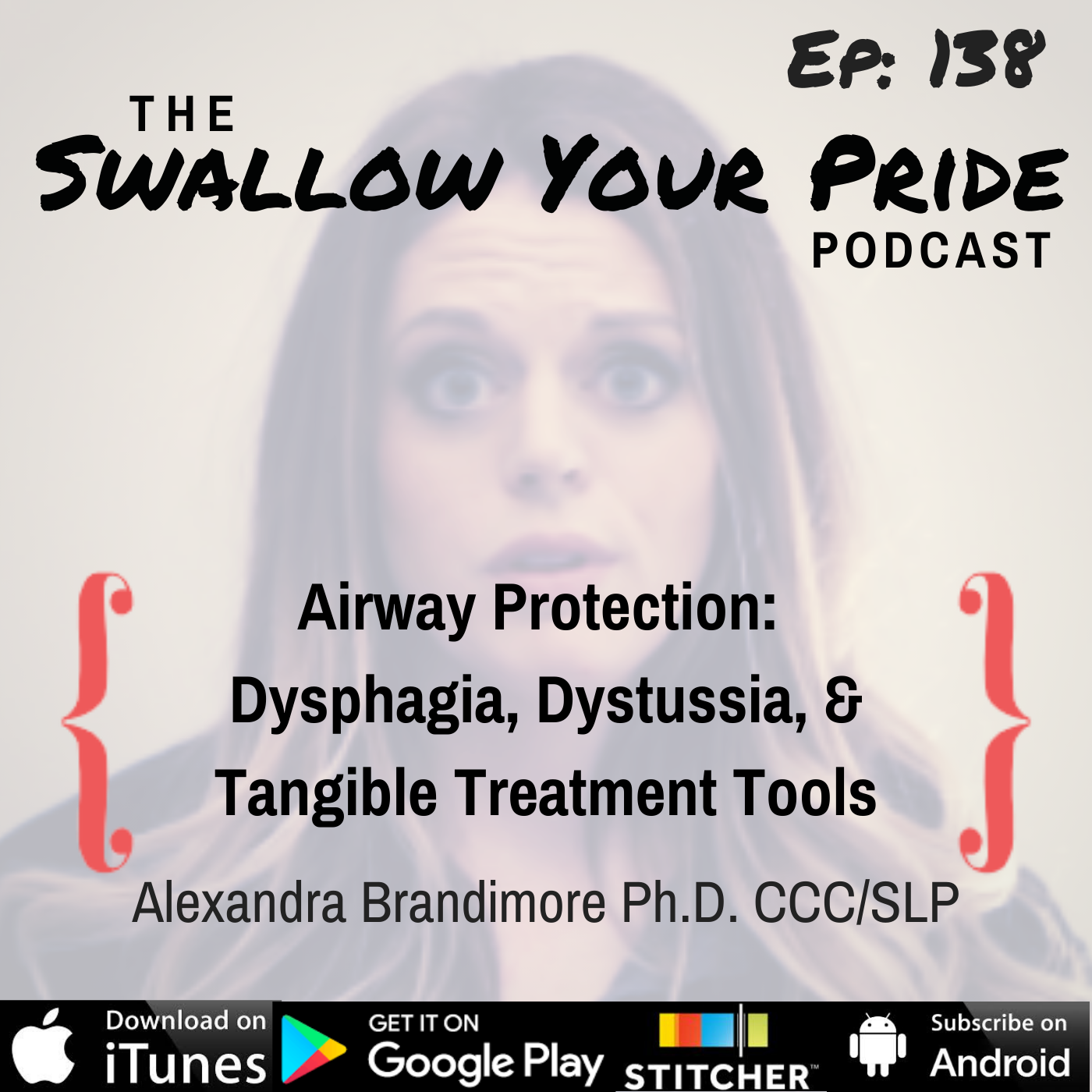 138 – Alexandra Brandimore Ph.D. CCC/SLP – Airway Protection: Dysphagia, Dystusssia & Tangible Treatment Tools
