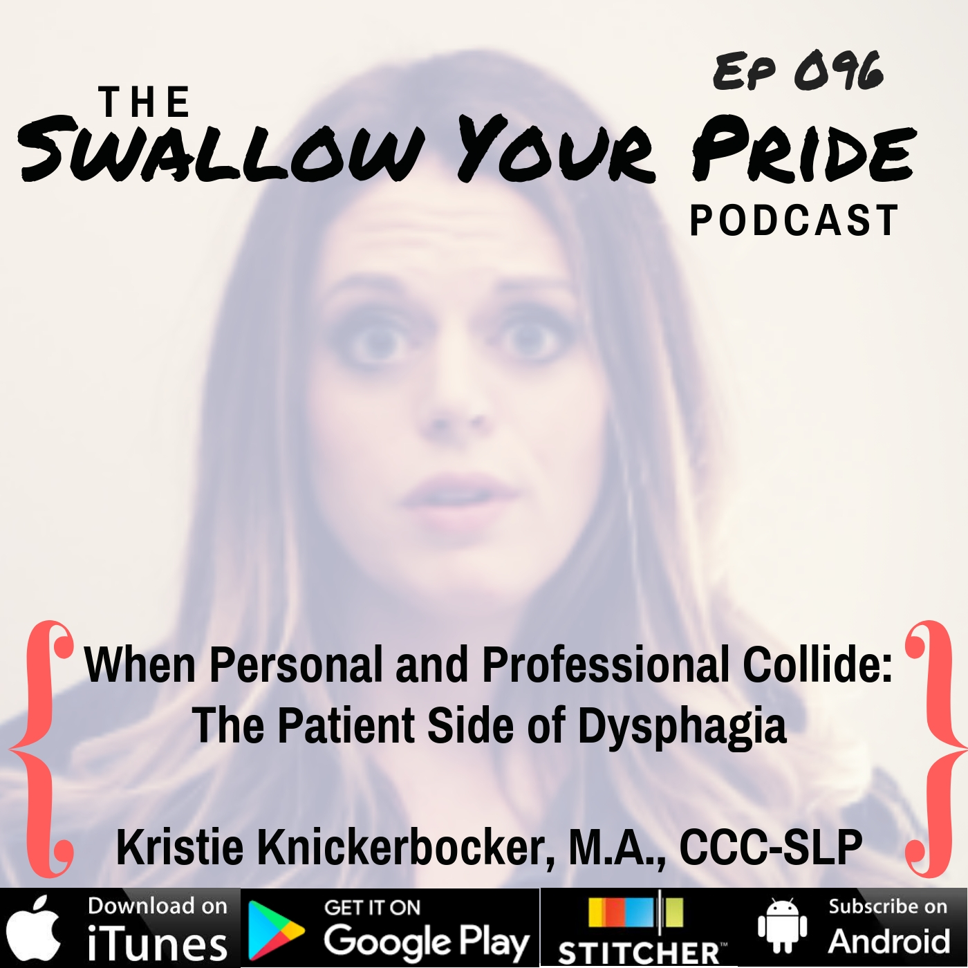 096 – Kristie Knickerbocker M.S. CCC-SLP – When Personal and Professional Collide: The Patient Side of Dysphagia